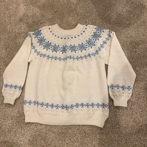 Dale of Norway Women's Snowflake 100% Wool Sweater